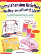 Comprehension Activities For Reading In Social Studies And Science
