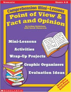 Four book Mini-Comprehension Reading series: Inferences & Cause/Effect; Sequencing & Context Clues; Point of View & Fact/Opinion; Main Idea & Summarizing (2004)