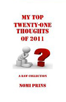 My Top Twenty-One Thoughts of 2011