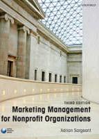 Marketing Management for Nonprofit Organizations