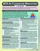 RTI & Classroom Behaviors